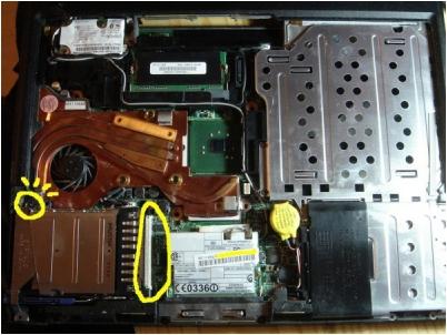 笔记本电脑风扇维修